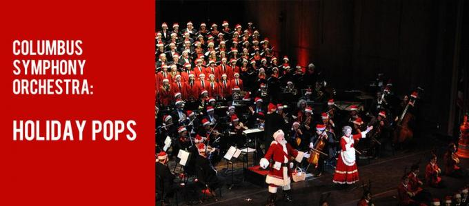 Columbus Symphony Orchestra: Ronald J. Jenkins - Holiday Pops at Ohio Theatre - Columbus