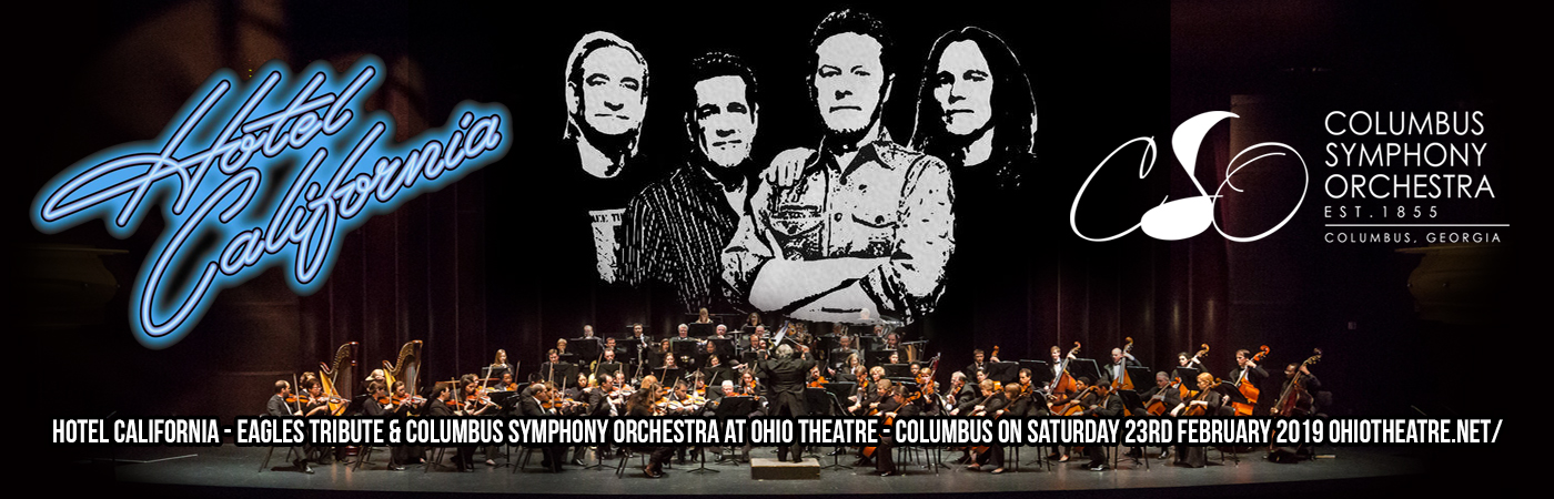Hotel California - Eagles Tribute & Columbus Symphony Orchestra at Ohio Theatre - Columbus