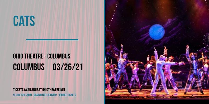 Cats [POSTPONED] at Ohio Theatre - Columbus