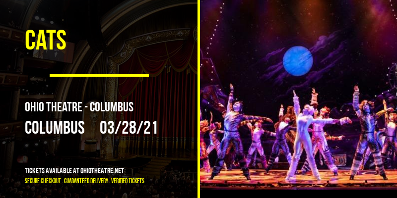 Cats [POSTPONED] at Ohio Theatre - Columbus