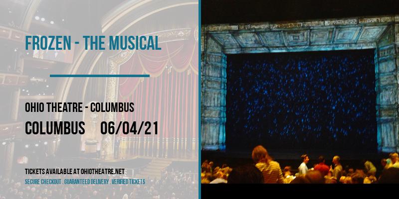 Frozen - The Musical at Ohio Theatre - Columbus