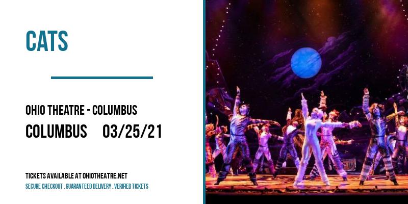 Cats at Ohio Theatre - Columbus