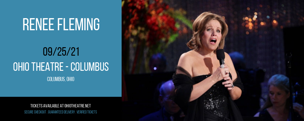Renee Fleming at Ohio Theatre - Columbus